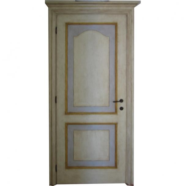 Porta Dipinta a Mano (Cod. 304) - Falegnameria Sfaldaroli, Porte e ...